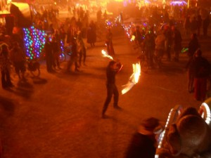 Fire Sword Dancing