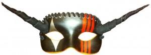Capacity and Desire Mardi Gras Mask