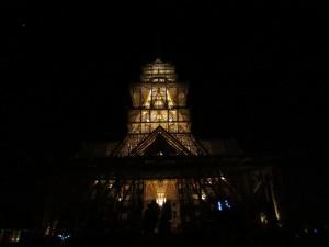 Temple at Burning Man 2012